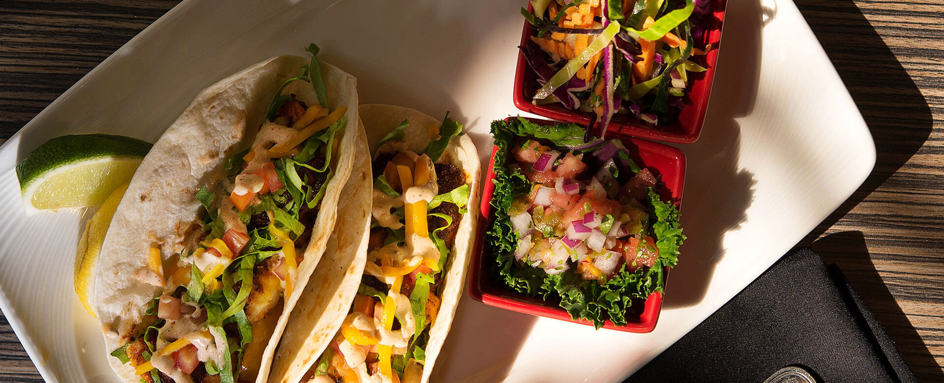 tacos at Sirata Beach Resort