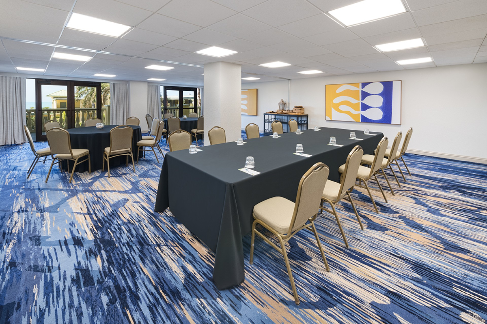 blue palm conference room